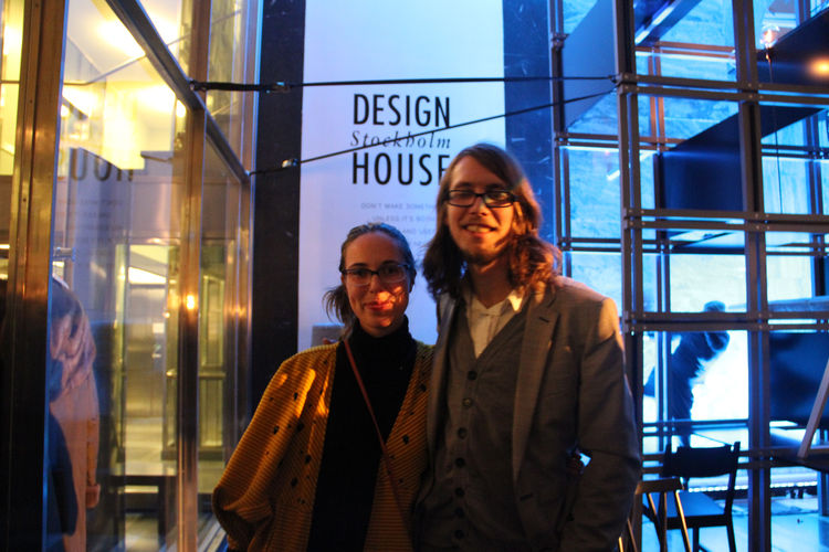 "Two of the three curators of 20 Designers, Emma Marga Blanche and Fredrik Färg, were also in attendance later in the same evening at <a href=""http://www.designhousestockholm.com/"">Design House Stockholm</a>. In addition to being co-curators in the design"