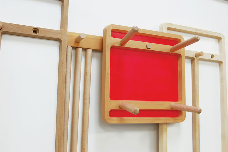 wooden Peg Frame series by Studio Gorm