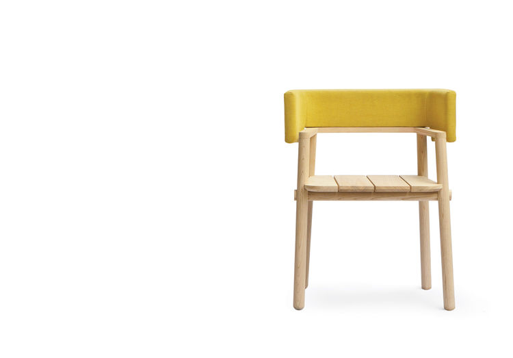ash wood Arms chair by THINKK Studio