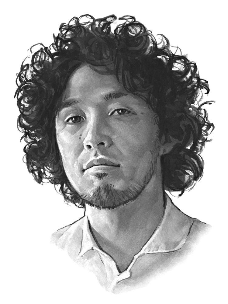 Yota Kakuda portrait by Bernd Schifferdecker