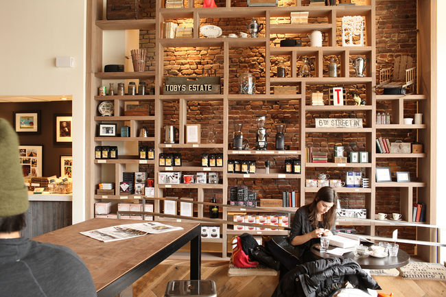 """Nemaworkshop has quite a few cafe projects under their belt. """"Owners are looking for us to develop spaces that are casual, comfortable, and not overly designed,"""" says Nema. """"They should feel relaxed and casual, carefully designed but seeming effortless."""""""