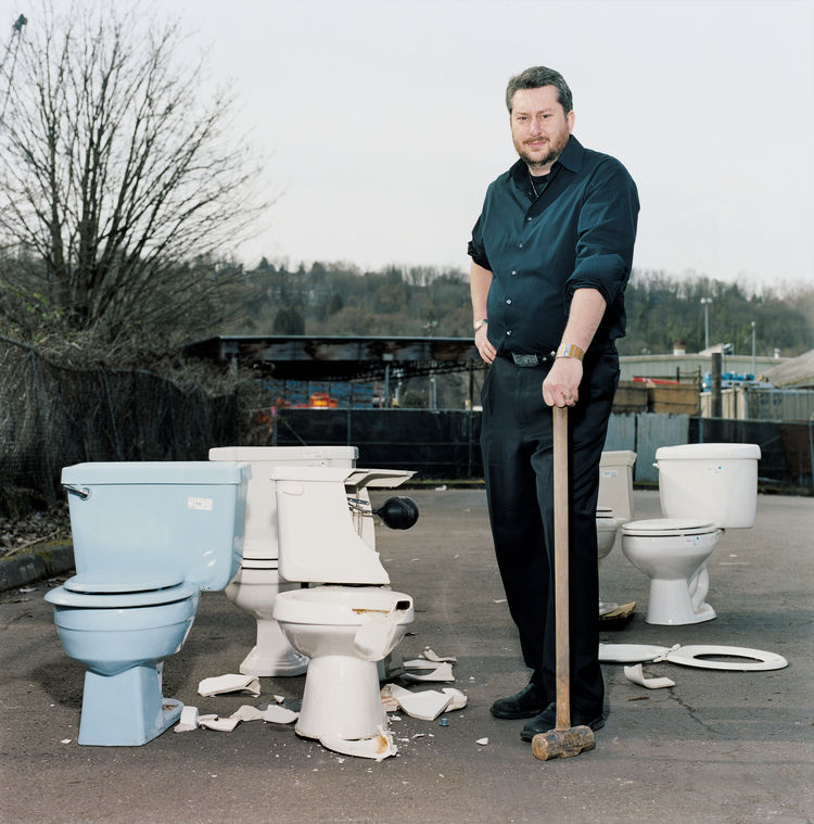 Architect, writer, and all-around green authority Jason McLennan, CEO of the Cascadia Region Green Building Council, surveys a lineup of eco-toilets and lay down the odds on super bowl contenders.
