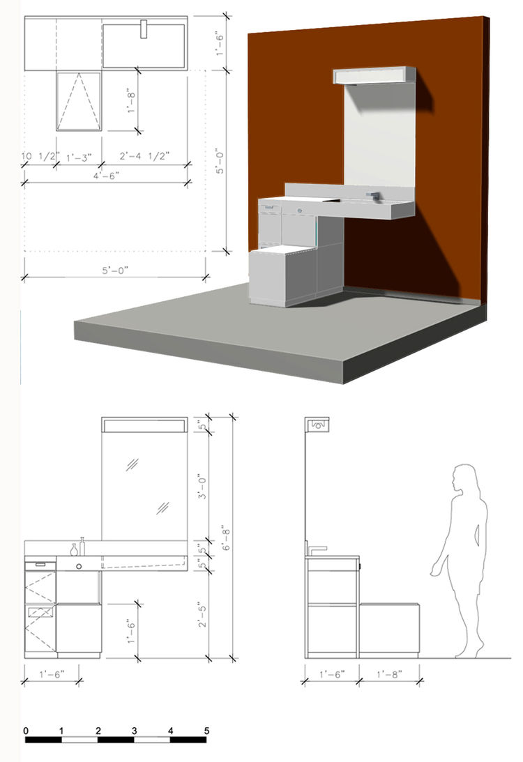 CONSERVatory<br /><br />  Submitted by Ollin Trujillo<br /><br />  Description: a compact, modular greywater system<br /><br />   Designer's statement:<br /><br />   CONSERvatory     Compact Modular Accessible Grey-Water Lavatory System    A few years ago