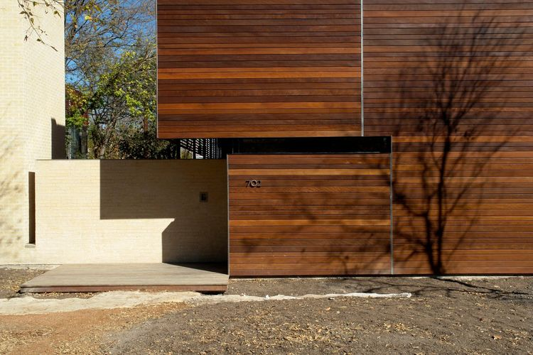 """The Wolfe Den will be featured on the Austin AIA Homes tour in October 2009. It has won the Texas Society of Architects (TSA) design award and the AIA Austin design award. For more on this project and others, visit <a href=""""http://www.mjnealblog.com"""">MJ N"""