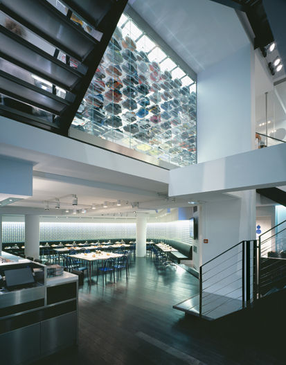 Recently Katayama redesigned Colette in Paris.