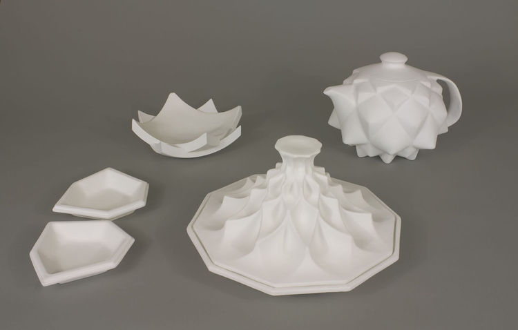 """Morocco Tableware,"" Edward Hale, Pratt Institute"