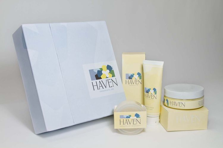 """Haven Therapeutic Spa Gift Set,"" Megan Pszenitzki, University of Akron."