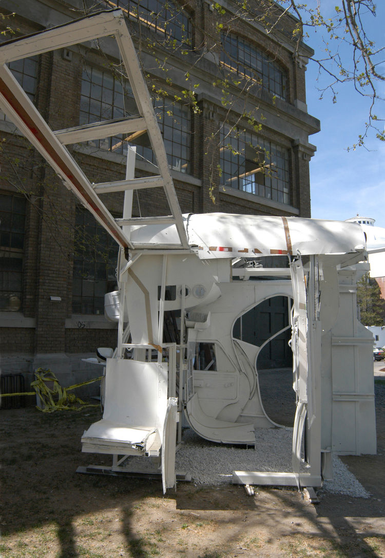 """The Bus Project,"" designed by Pete Klassen-Landis for his senior thesis project at Cornell"