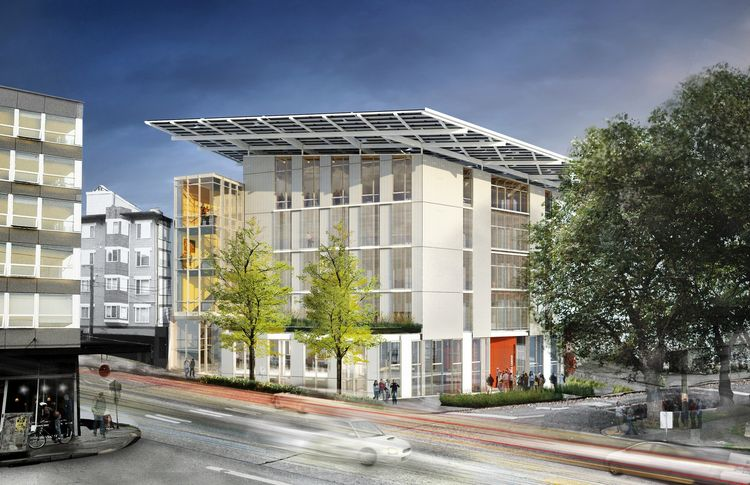 The Bullitt Center goes beyond zHome and aims to fully achieve the Living Building Challenge standard. This inspiring building, designed by Miller+Hull Architects, is being built by one of the preeminent Pacific Northwest environmental philanthropic organ
