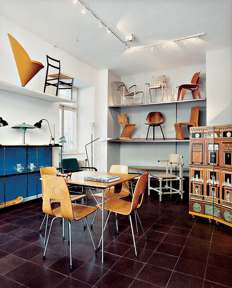 Rock Objekte, a design store in operation since 1925, sells vintage furniture.