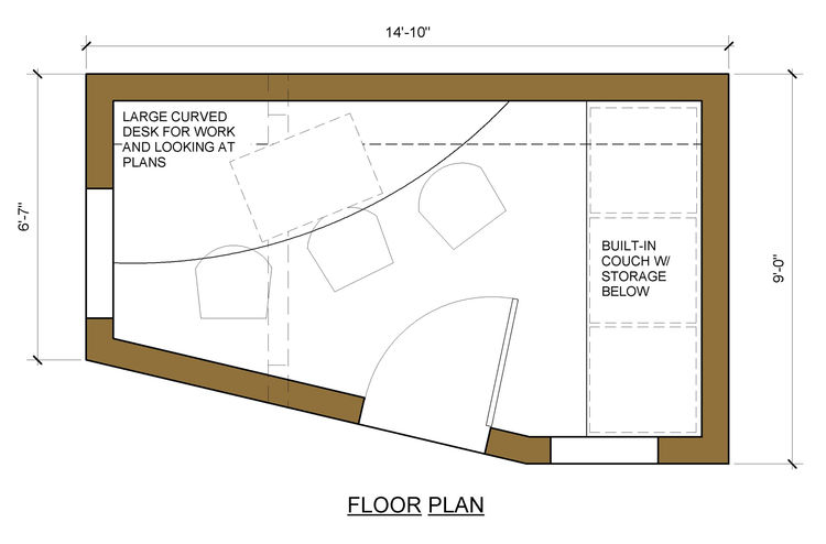 "The floor plan. Image courtesy <a href=""http://www.deedsdesign.com"">Deeds Design</a>"