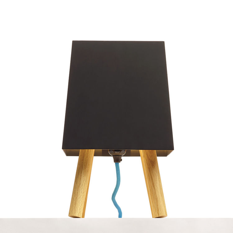 matte black shade Table light by Iacoli & McAllister