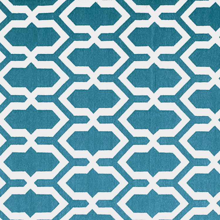 Jali Blue rug by The Rug Company