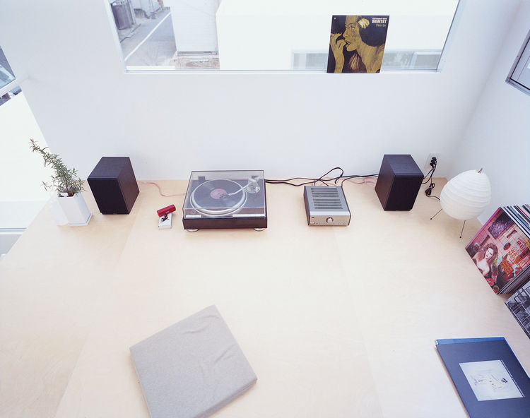 Stereo in a prefab Tokyo compound