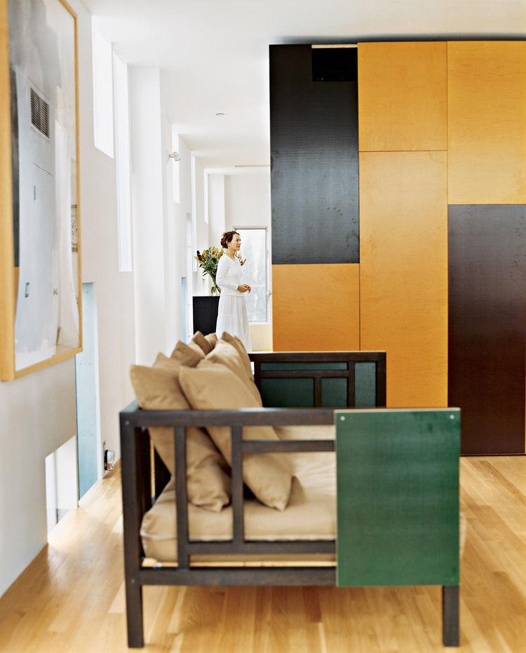 paneled room Venice