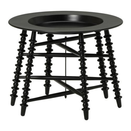 Ikea Black Trollsta Tray Table