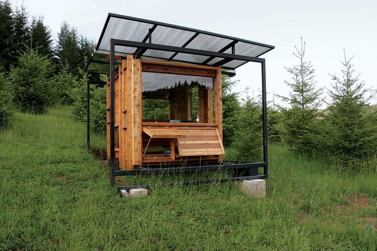 A writer's retreat in Wren, Oregon