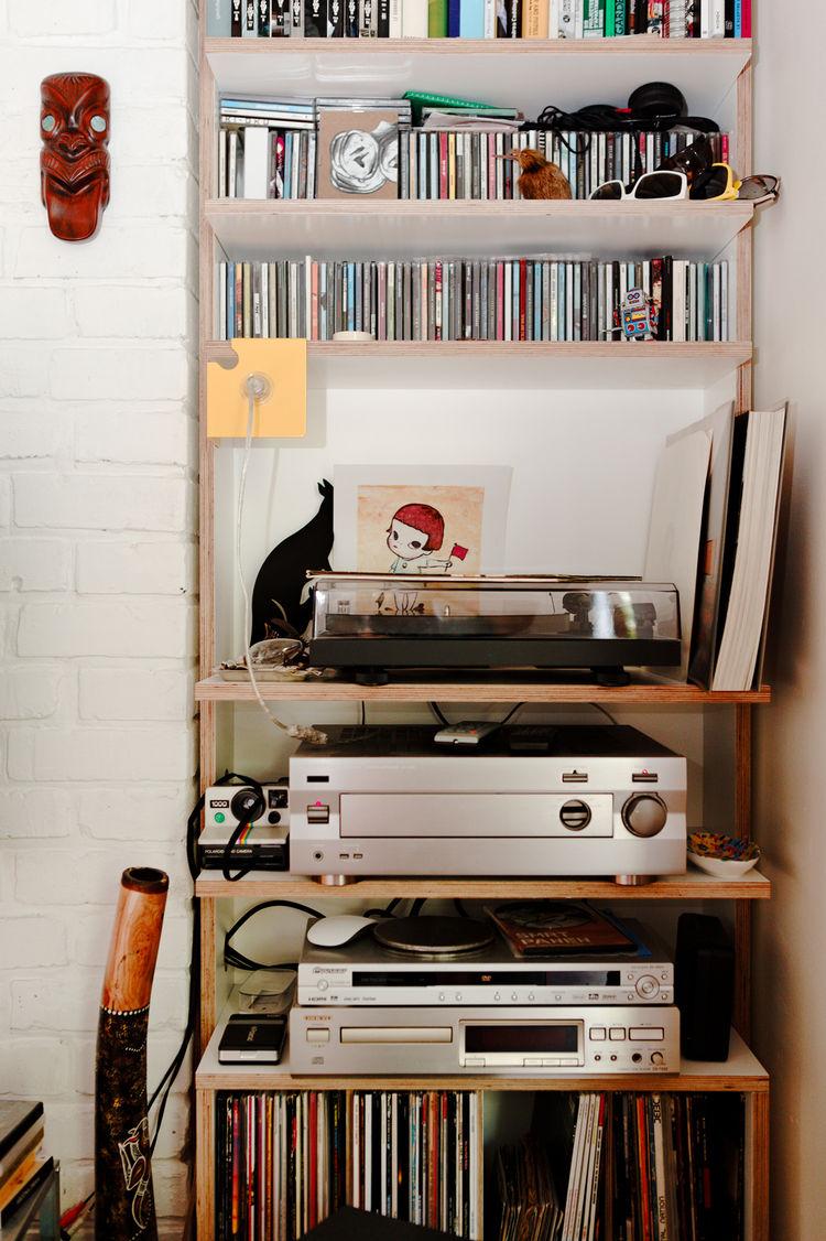 Stereo setup in Bratislava apartment