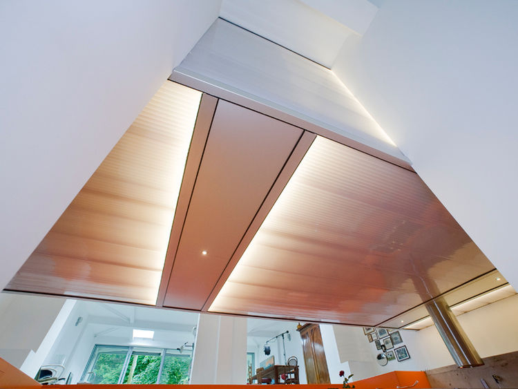 Modern indoor lightbox ceiling