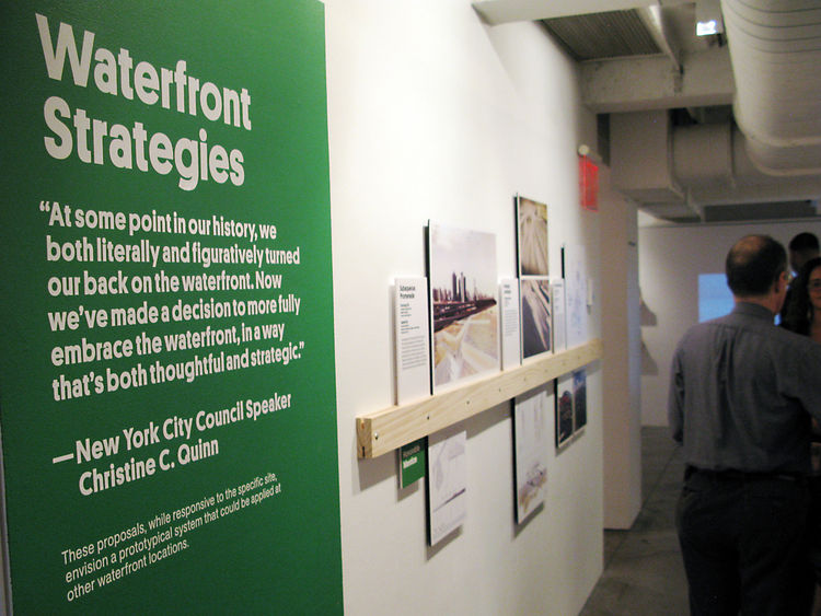The Harlem Edge: Cultivating Connections exhibition waterfront strategies