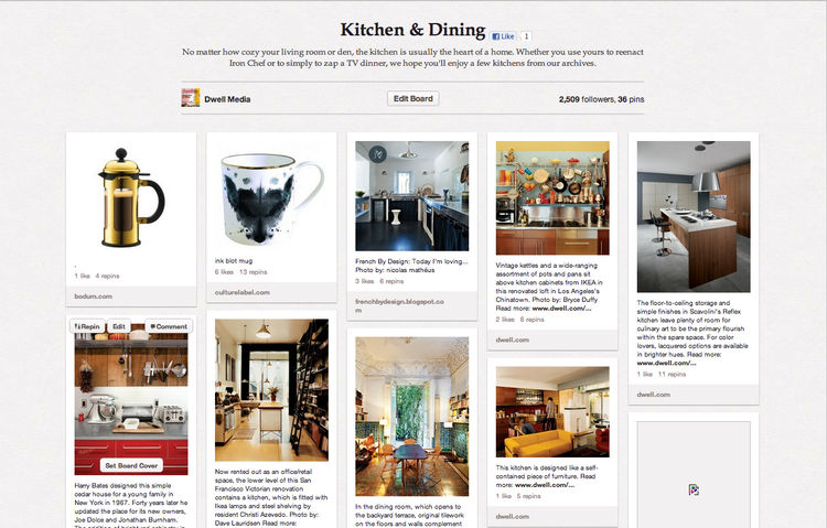 Kitchen Dining Dwell Pinterest Board