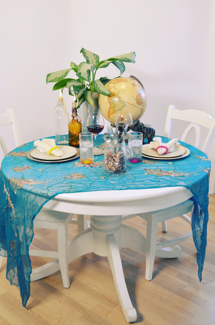 Tablescape by Mr. Kate