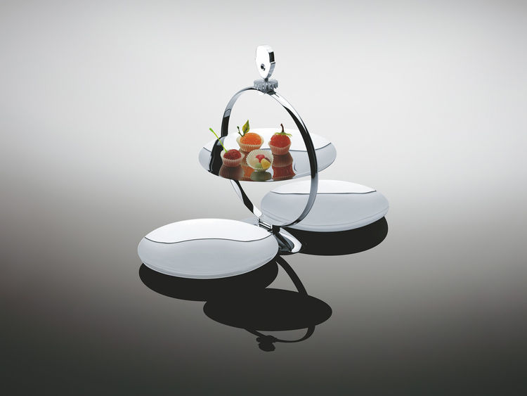 Modern serving tray by Alessi