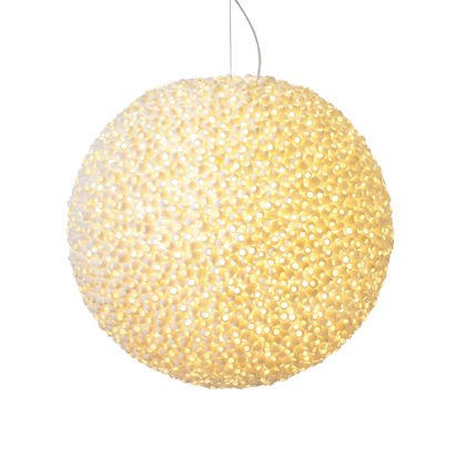 Ango modern pendant light made from silk cocoons