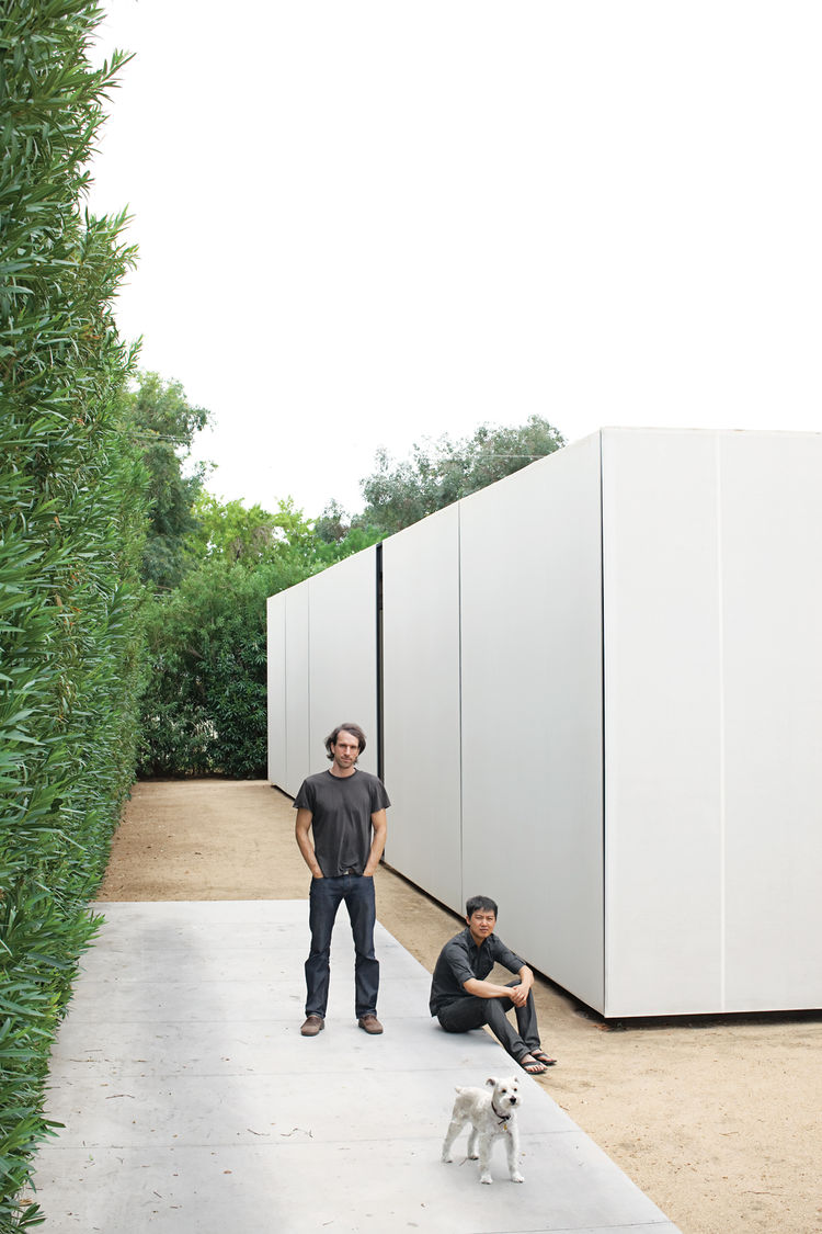 For the duo of young architects behind the firm Atherton Keener, the harsh, ever-changing light of Phoenix, Arizona, desert served as inspiration for their minimal and malleable home.