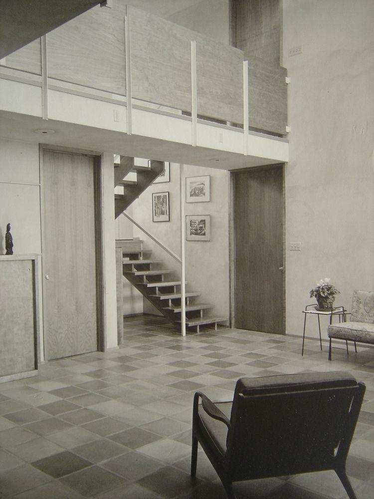 Archival photo of a Close Associates house
