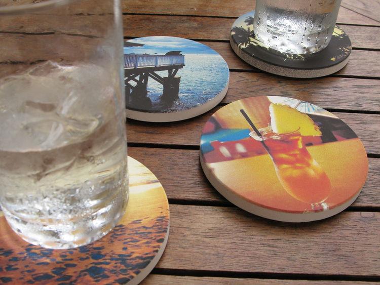 Hawaii series modern coasters by Coastermatic