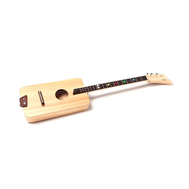 Rectangle Wooden Beginner's Guitar by Loog Guitars