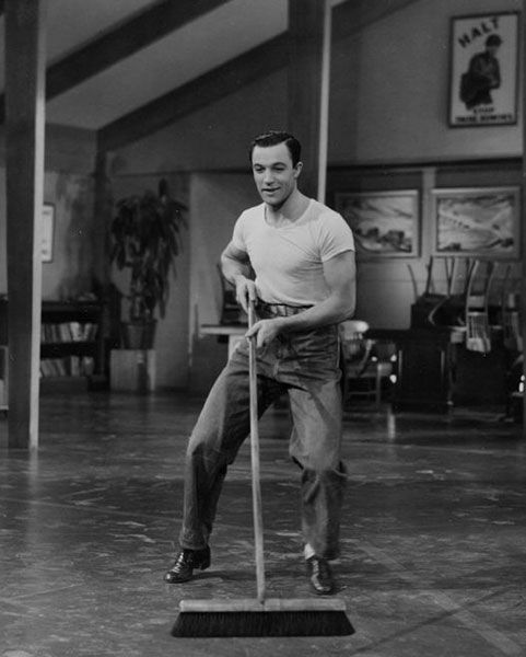 "Gene Kelly as seen on the website <a href=""http://bit.ly/h2gmud"">Heck Yes Gene Kelly</a>."