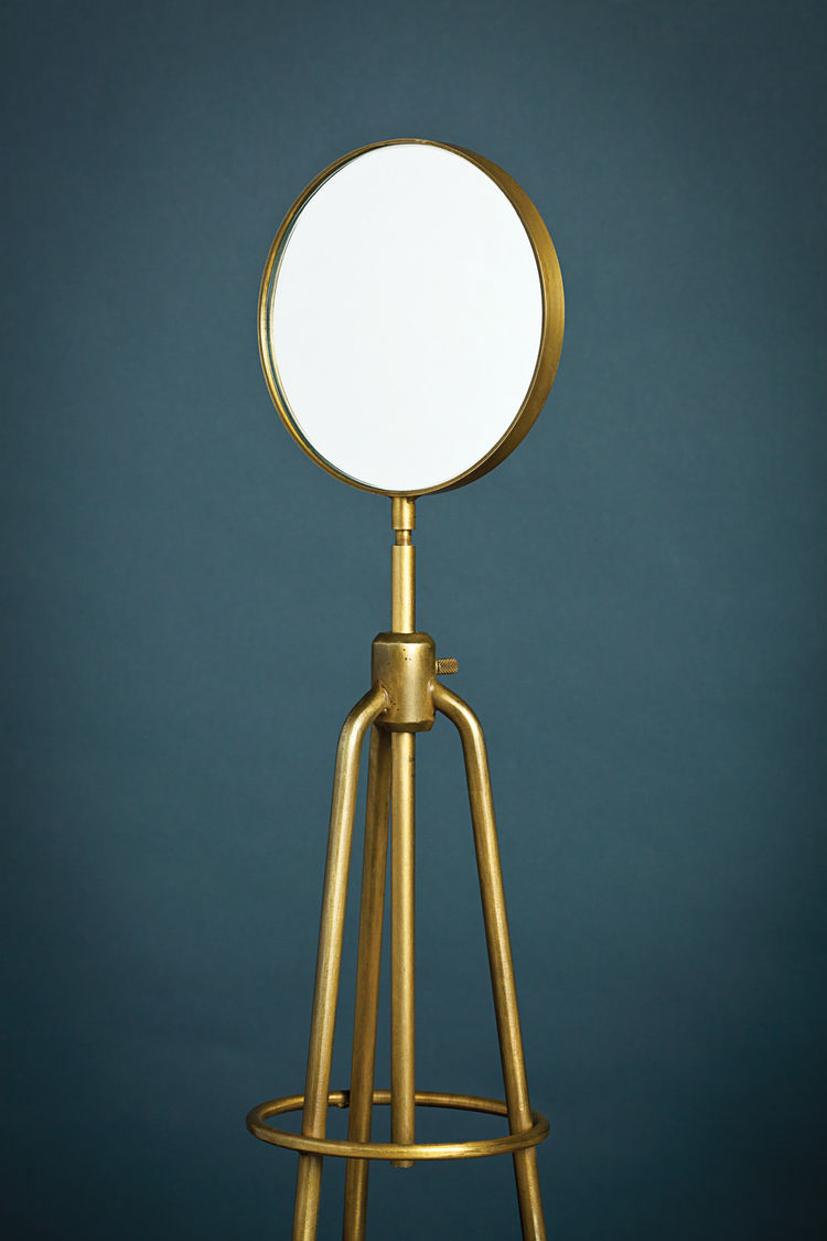 Burner Stand Mirror by Amuneal