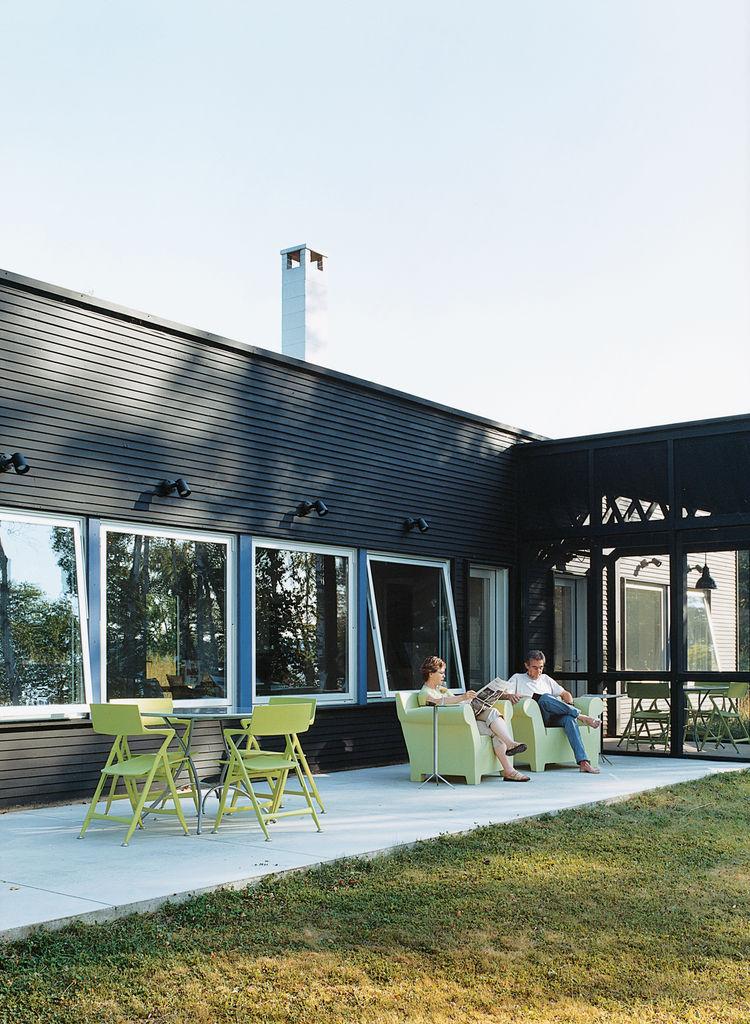 Cabin on Madeline Island, Wisconsin