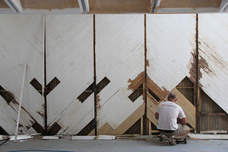 Restoration of the Finnish Pavilion by Alvar Aalto