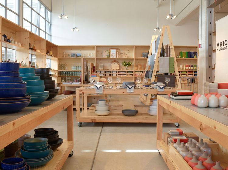 Heath Ceramics showroom in San Francisco