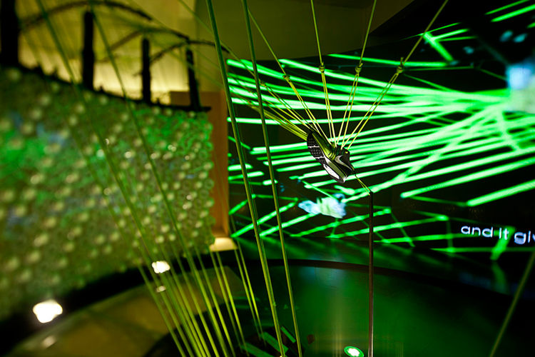 Nike Stadium Installation in Shanghai