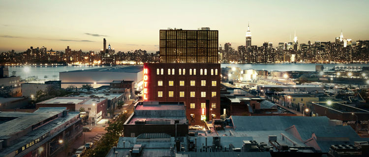 Wythe Hotel in Brooklyn, New York
