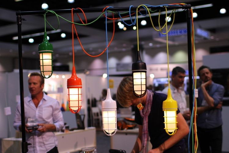 Quench Design Lights at Dwell on Design 2012