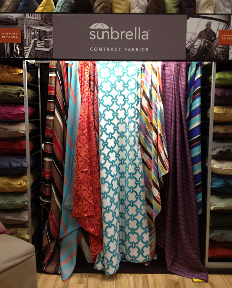 Sunbrella Fabric at Dwell on Design 2012