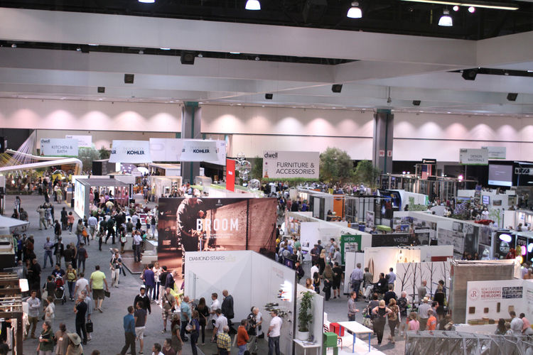 Aerial view of Dwell on Design Convention 2012