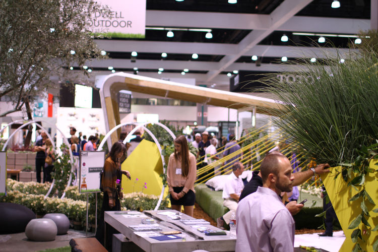 Outdoor section of Dwell on Design 2012