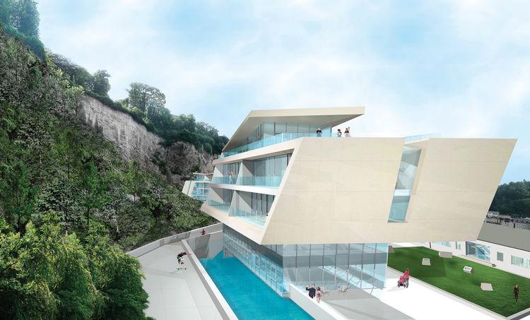 Sternbrauerei residential development in Salzburg, Australia