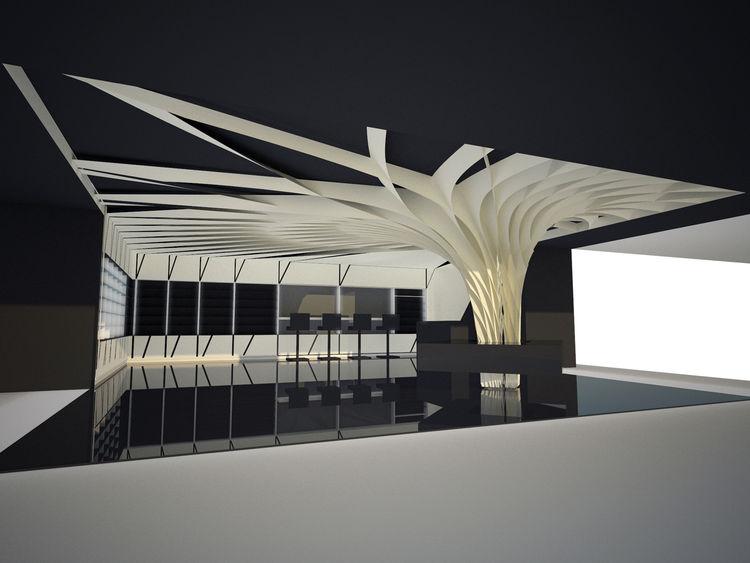 IwamotoScott Architecture MAC Cosmetics conceptual store rendering
