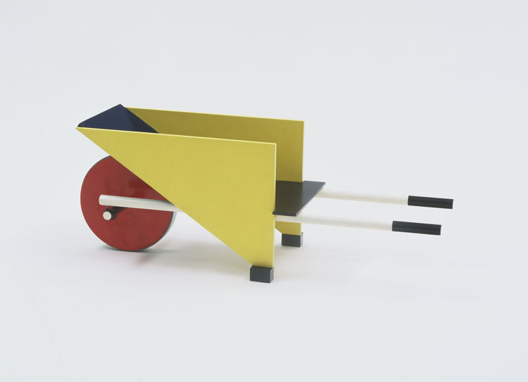 Wheelbarrow by Gerrit Rietveld