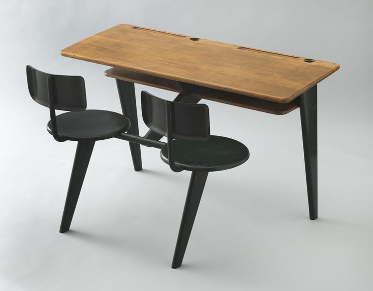 School Desk by Jean Prouvé