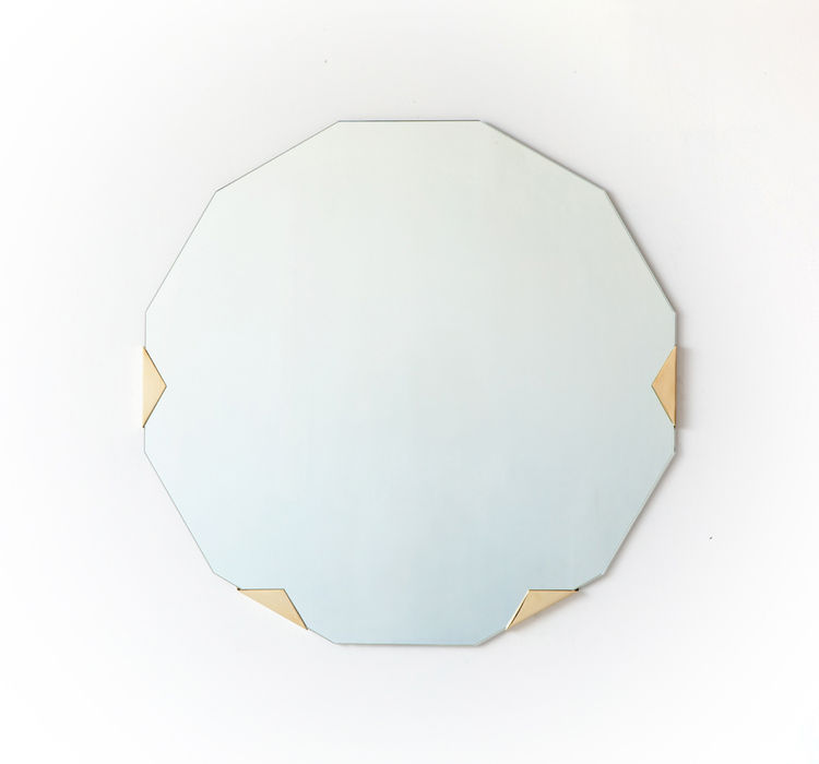 Modern Haynes mirror by Brooklyn design studio Egg Collective