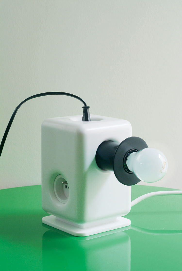 Multiplug lamp by Normal Studio for Ligne Roset