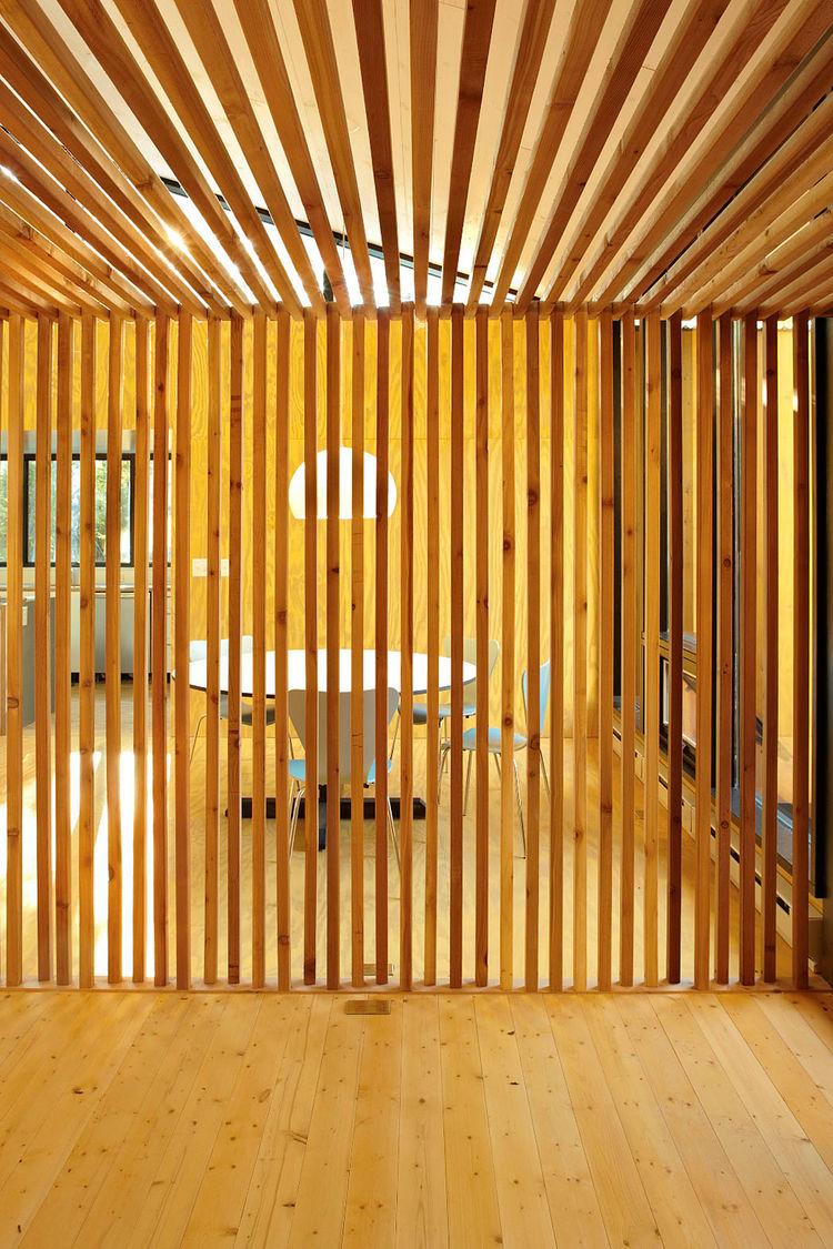 Raw heirloom cedar entry screen